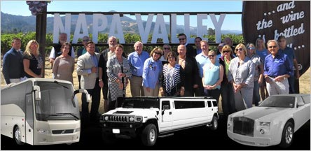 Napa Valley Wine Tours Limo Service Novato