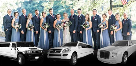 Wedding Limo Rental Service Novato