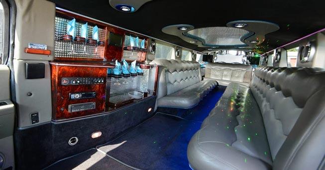 Novato Hummer Limousine Interior