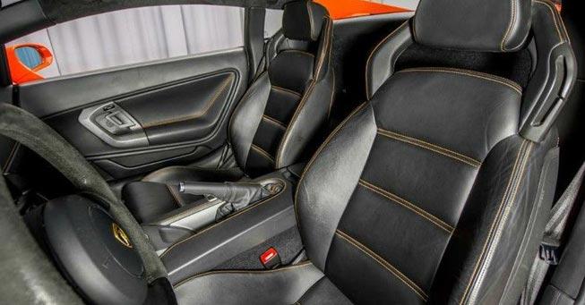 Novato Lamborghini Gallardo Interior