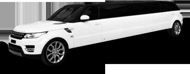 Novato Range Rover Stretch Limo Exterior