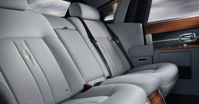 Novato Rolls Royce Phantom Interior
