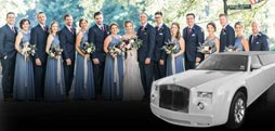 Wedding Limo Party Bus Rentals Novato